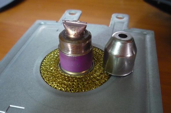 Ремонт колпачка магнетрона микроволновки своими руками 59