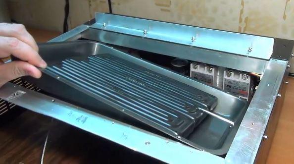 Нижний нагреватель паяльной станции