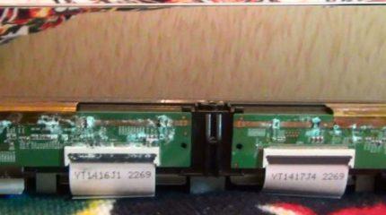Неисправность LCD телевизоров №1